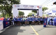 Nhân viên UOB Việt Nam tham gia giải chạy trực tuyến gây quỹ ủng hộ trẻ em