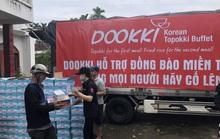 Đoàn xe của Dookki hành quân từ TP HCM về Quảng Ngãi hỗ trợ người dân vùng lũ
