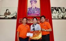 Mai Vàng nhân ái thăm NSND Thảo Vân và nghệ sĩ hài Vũ Quang tại Bến Tre