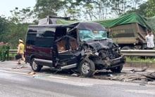 Xe Limousine tông xe đầu kéo, một cán bộ Ban Tổ chức Tỉnh ủy Yên Bái tử vong