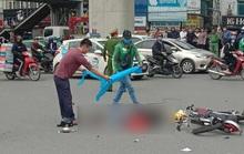 Truy tìm tài xế xe tải tông tử vong người phụ nữ đi xe đạp điện rồi bỏ chạy