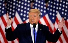 Clip: Ông Trump tuyên bố chiến thắng dù ông Biden đang áp đảo phiếu đại cử tri