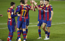 Siêu dự bị Messi tỏa sáng, Barca đại thắng Betis