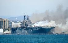 Hải quân Mỹ mất 30 triệu USD xuống xác tàu chiến USS Bonhomme Richard