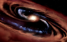 Sống sót dù bị lỗ đen nuốt, quái vật sinh ra 100 mặt trời mỗi năm