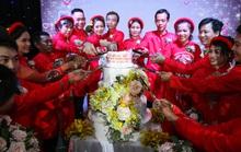 Xúc động lễ cưới tập thể dành cho công nhân khó khăn