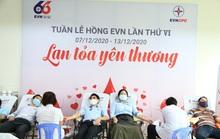 Hơn 450 cán bộ, công nhân viên EVNCPC hiến máu cứu người