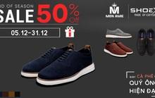Mùa sale off cuối năm – giảm giá 50% khi mua giày ShoeX