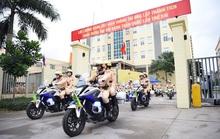 CSGT ra quân bảo vệ Đại hội Đảng toàn quốc lần thứ XIII
