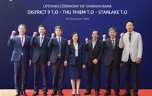 Ngân hàng Shinhan đồng loạt khai trương 3 phòng giao dịch mới