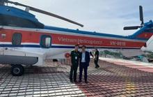 Bệnh viện đầu tiên ở Việt Nam đưa trực thăng vào hoạt động cấp cứu