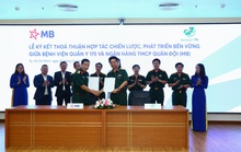 MB hợp tác với Bệnh viện Quân y 175 nhằm đẩy mạnh thanh toán viện phí không tiền mặt