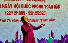 Nghệ sĩ hát mừng ngày thành lập Quân đội nhân dân Việt Nam