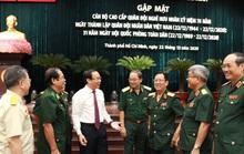 Bí thư Nguyễn Văn Nên gặp mặt cán bộ cao cấp quân đội nghỉ hưu
