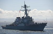 Mỹ - Trung đấu khẩu sau khi tàu chiến Mỹ áp sát quần đảo Trường Sa