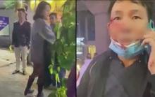 Cô gái trẻ say xỉn lăng mạ, đánh vào mặt tài xế taxi