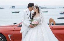 Quý Bình hát tặng vợ trong tiệc báo hỷ ở Phú Quốc