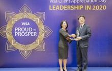 Ngân hàng Shinhan nhận 3 giải thưởng danh giá từ VISA