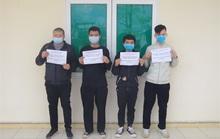 Bắt 4 người Trung Quốc nhập cảnh trái phép