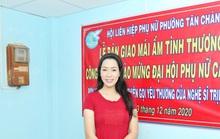 NSƯT Trịnh Kim Chi gấp rút trao nhà tình thương đón năm mới