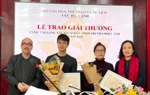 Đạo diễn làm phim nào cũng có giải thưởng giành giải nhì cuộc thi kịch bản