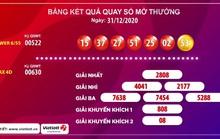 Một vé Vietlott trúng 81,7 tỉ đồng vào ngày cuối cùng năm 2020