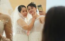 Những hình ảnh xúc động tại lễ cưới tập thể của 46 cặp đôi đặc biệt