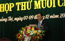 Quảng Trị có tân Phó Chủ tịch HĐND tỉnh