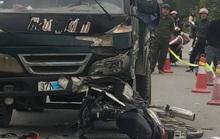 Xe máy găm vào đầu xe tải, người đàn ông chưa rõ danh tính tử vong tại chỗ