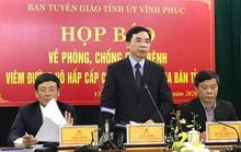 Vĩnh Phúc họp báo: Đang nghiên cứu trường hợp nữ công nhân về từ Vũ Hán lây bệnh cho 5 người khác
