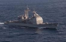 Mỹ liên tiếp hiện diện quân sự trên eo biển Đài Loan