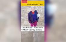 Trung Quốc: Thiết bị không người lái tuần tra đường phố, bắt kẻ trốn chui