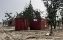 Nhà nghỉ container lấn rừng phòng hộ