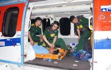 Cận cảnh dùng trực thăng cứu người khẩn cấp của Bệnh viện Quân y 175