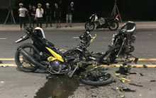 Xe máy tông nhau vỡ vụn, 2 người chết trong khu Công nghệ cao