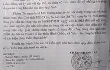 Lãnh đạo huyện xin rút kinh nghiệm vụ cấp đất trái quy định cho vợ chủ tịch xã