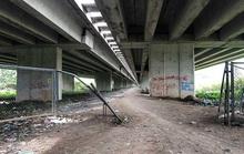 VEC chưa có cơ sở cho làm đường, bãi xe dưới gầm cầu cao tốc