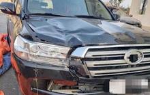 Tìm thấy xế hộp đắt tiền Land Cruiser tông chết người bỏ trốn