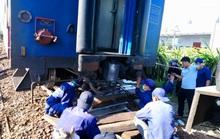 Bình Thuận: Tàu hoả trật đường ray, đường sắt tê liệt