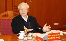 Tổng Bí thư, Chủ tịch nước Nguyễn Phú Trọng chủ trì họp Tiểu ban Văn kiện Đại hội XIII