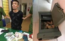 Công an tuần tra bắt gọn tên trộm cạy két sắt cuỗm nửa tỉ đồng trong đêm