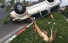 Chạy nhanh, xe bán tải bị nạn trên đại lộ Phạm Văn Đồng, 5 người cấp cứu