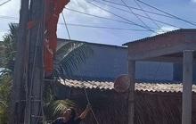 Nhân viên điện lực Cà Mau bị điện giật tử vong thương tâm