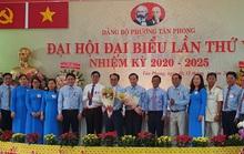 Ông Phạm Hồng Lộc tái đắc cử chức vụ Bí thư Đảng ủy phường Tân Phong