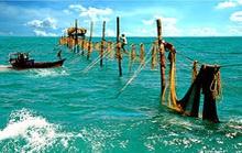 Tìm tung tích đầu người mắc kẹt trong đáy lưới của ngư dân