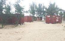 Vụ 130 nhà nghỉ bằng container trái phép trong rừng phòng hộ: Yêu cầu kiểm điểm, rút kinh nghiệm