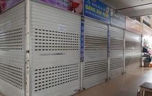 CLIP: Hơn 1.000 ki-ốt chợ Vinh đóng cửa vì dịch Covid-19