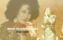 Infographic: Điều ít biết về danh ca Thái Thanh