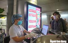 Bộ Y tế thông báo khẩn tìm hành khách trên 2 chuyến bay từ nước ngoài về TP HCM