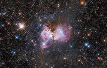 Phát hiện đám mây hồng bí ẩn đang sinh ra siêu mặt trời mới